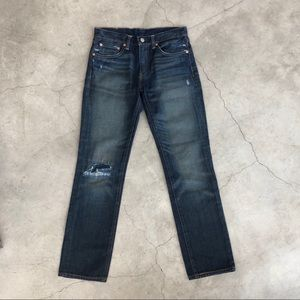 Distressed/washed Men's 511's 29x30